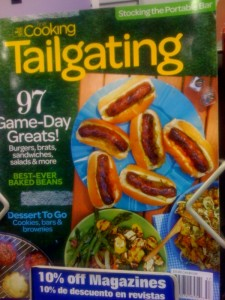 Choose healthy recipes for tailgating or watch parties